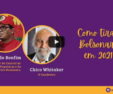 Live Luto e Luta, com Raimundo Bonfim da CMP – 21/10